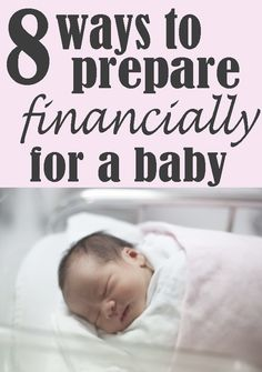 Before you have your baby, get ready financially using these 8 steps. Helping papá with his anxiety and financial concerns of having a baby. Getting Ready For Baby, Preparing For Baby, Baby Planning, Family Planning, Baby On The Way, Our Baby, Baby Baby, Nouveaux Parents, Baby Makes