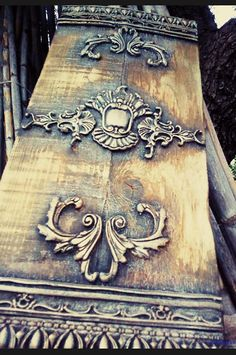 Bronze Patina, Pewter Metal, Paint Furniture, Furniture Makeover, Decoupage, Iron Orchid Designs, Gris Rose, Faux Painting, Stencil Art