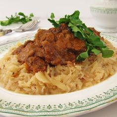 Heavenly Hungarian Goulash. Lush rich beefy flavor. Tender velvety texture. Warmth from a humble simple winter braise.   marksdailynosh.com