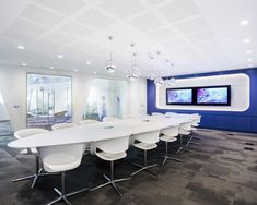 Swarovski Crystal Office Interior Meeting Room Design