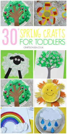Easy ideas for spring crafts for toddlers with spring tree crafts, flowers, sheep crafts and weather craft ideas The Effective Pictures We Offer You About spring crafts garden A quality picture can te Spring Arts And Crafts, Spring Toddler Crafts, Toddler Arts And Crafts, Spring Art Projects, Preschool Arts And Crafts, Toddler Art Projects, Daycare Crafts, Easy Crafts For Kids, Crafts Toddlers