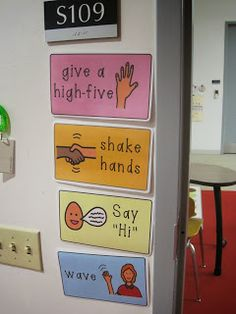 A few of the little details in my Special Education Classroom