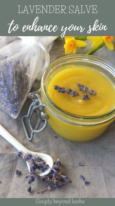 Lavender has many complacent properties, from soothing minor skin irritations to healing insect bites, Lavender salve is handy in most situations where you're just desperate for a quick, natural solution.#herbalism, #herbalhealth, #naturalremedies, #skincareremedies, #herbaldiy #lavendersalve Skin Care Remedies, Herbal Remedies, Natural Remedies, Vegan Recipes Plant Based, Real Food Recipes, Nutrition Tips, Health And Nutrition, Lavender Recipes, Insect Bites