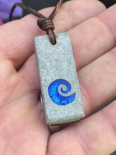 Concrete Necklace Wave Art Concrete and by zulasurfing on Etsy