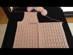 Easy Sweater Knitting Patterns, Easy Knitting, Knit Shrug, Knitting Projects, Stitch Patterns, Free Pattern, Youtube, Crochet, Beautiful