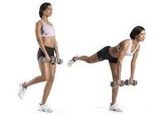 10 best workouts for women-Single-Leg Dumbbell Straight-Leg Deadlift health-fitness health-and-fitness healthy-diet health-and-fitness excercise Straight Leg Deadlift, Single Leg Deadlift, Dumbell Deadlift, Fitness Tips, Fitness Motivation, Health Fitness, Women's Health, Fitness Workouts, Muscle Workouts