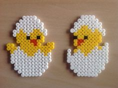 Kyllinger tinker pearls - Kyllinger tinker pearls Informations About Kyllinger basteln perlen Pin You can easi - Bead Embroidery Patterns, Beaded Embroidery, Beading Patterns, Jewelry Patterns, Motifs Perler, Perler Patterns, Quilt Patterns, Easter Crafts, Crafts For Kids