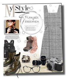 """""""Untitled #185"""" by marilyn-thompson on Polyvore featuring New Look, Whetstone Cutlery, Prada, By Terry, pinafores and 60secondstyle"""