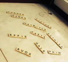 Bananagrams Hunger Games style!