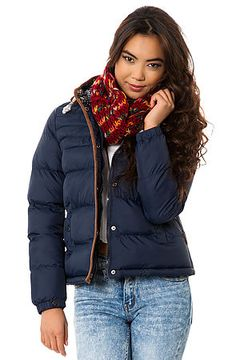The Falkirk Puffa Jacket by Bellfield. When the snow starts to fall, that doesn't mean you can't still wear your favorite mini skirt and crop top to the club, just grab this puffy coat and head out the door! $105