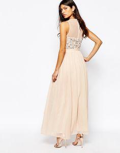 Image 2 ofRiver Island Embellished Bodice Maxi Dress