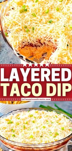 This quick and easy game day appetizer is always a crowd-pleaser! With layers of taco-seasoned cream cheese, salsa, and cheese, this meatless dip is delicious when served alongside chips, pita bread, crackers, and fresh vegetables. Save this Super Bowl menu idea! Game Day Appetizers, Yummy Appetizers, Appetizer Recipes, Super Bowl Menu, Layered Taco Dip, Yummy Food, Yummy Recipes, Fresh Vegetables, Family Meals