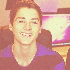 omg! i want(: I found about him like a week ago. He's British, adventurous, beautiful, hilarious and HE HAS A TWIN. Jack Harries everyone. Or possibly Finn.