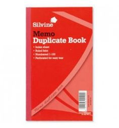 "Buy the new ""Silvine Duplicate Book Feint Ruled 10x8 602-T Pk6"" online today. Now in stock."