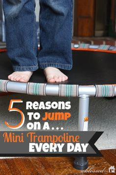 5 Reasons to Jump on a Trampoline Every Day Mini Trampoline Workout, Backyard Trampoline, Fitness Trampoline, Trampolines, Fitness Tips, Fitness Motivation, Health Fitness, Health Exercise, Low Impact Workout