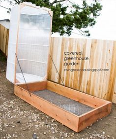 How To Build A Covered Greenhouse...http://homestead-and-survival.com/how-to-build-a-covered-greenhouse/