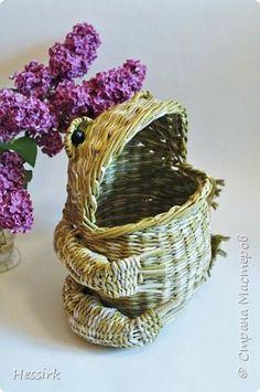 Поделка изделие Плетение июнь Трубочки бумажные фото 1