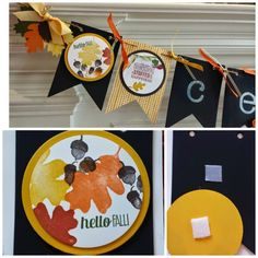 Bannermania: 2nd of 5 banners! THANKSGIVING!!!! Highlighting Mingle All The Way and For All Things stamp set from Stampin' Up. See my blog to learn how to make this banner or get your KIT TO GO! From papermadeprettier (Kay Cogbill)
