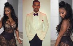 Drake Seen Getting Wet & Wild Poolside w/ Baddie Bernice
