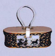 Whimsical #Vintage #Lucite #Purse