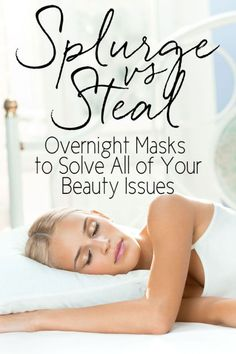 The recent trend of creating overnight masks and intensive treatment products definitely helps with multi-tasking your beauty routine! There are products for your skin, your hair, and to target specific issues. While they were once only found at very high price points, you can now find them at much more affordable prices. Read on as eBay shares a few favorite overnight masks, splurges and steals to solve your beauty woes!