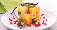 Recette de Salade de fruits détox en cube vitaminé. Facile et rapide à réaliser, goûteuse et diététique. Ingrédients, préparation et recettes associées.