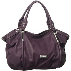 Purse Boutique: Purple Oversized Vitalio Vera ''Alicia'' Hob... - Polyvore