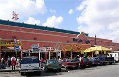 Mercado Juárez.  Ciudad Juarez. México.