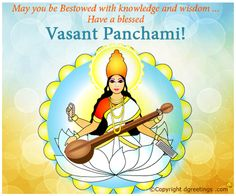 Send warm wishes on Vasant Panchami.