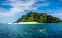 Mergui Island Paradise Slowly, Softly Opens