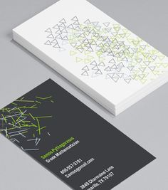 Abstract Lines Vertical: these scattered geometric shapes are beautifully low key; a classy, simple yet stylish Business Card for any profession. Elegant Business Cards, Business Card Design, Logo Design, Graphic Design, Abstract Lines, Low Key, Geometric Shapes, Branding, Templates