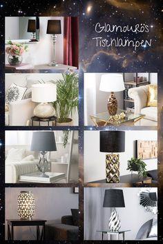 Diese Tischleuchten sind eine ausgewogene Kombination aus Klassik und Extravaganz. Der expressive, Lampenfuss mit interessanter Textur passt perfekt zum klassischen, glatten Schirm, der für eine sanfte Beleuchtung sorgt. Das schimmernde Dekorelement wird jedem Wohn- und Schlafzimmer einen eleganten Touch verleihen. Modern, Rest, Be Creative, Mattress Protector, Waiting, Surface Finish, Lighting, Bedroom, Trendy Tree