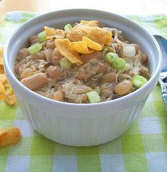 Easy White Chicken Chili Recipe in 30 minutes.
