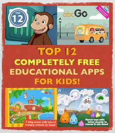 We couldn't resist! There's just so many great apps out there so we squeezed in two more! Check it out and Share!  http://www.smartappsforkids.com/2013/11/top-10-completely-free-educational-apps-for-kids-nov-19-2013.html
