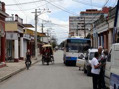Street scene in Ciego de Ávila, Cuba. Photo taken by Brian Kaylor during a trip for the COEBAC's 40th anniversary celebration at Iglesia Bautista Enmanuel (Emmanuel Baptist Church).