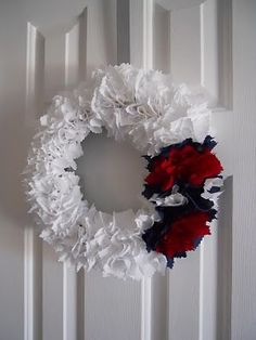 4th of July Wreath....EXACTLY what I was looking for!