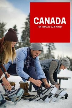 12 Activities Besides Skiing to do in Canada this Winter Fun things to do in winter in Canada: Ski Canada, Visit Canada, Canada Travel, Canada Trip, Canada Ontario, Toronto Canada, Travel Outfit Spring, Canada Destinations, Holiday Destinations