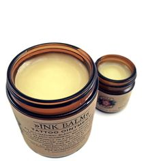 Tattoo Balm Aftercare All Natural Salve Ointment by Wild Rose Herbs