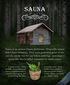 Sauna is an ancient Finnic bathhouse that was warmed up by burning wood under a pile of rocks until the rocks and the sauna interiors were warm enough so people could comfortably remove their cloth. History Of Finland, Building A Sauna, Traditional Saunas, Finnish Language, Sauna Design, Outdoor Sauna, Finnish Sauna, The Smoke, France