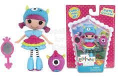 Mini Lalaloopsy Doll - Furry Grrs-a-Lot Code:  02154 To order: http://www.shopaholic.com.ph/#!/Mini-Lalaloopsy-Doll-Furry-Grrs-a-Lot/p/58414185 Mini Lalaloopsy Furry Grrs-a-Lot was made from something furry. She loves to stomp around and practice her really loud Grrrrr! sound. But sometimes she catches her reflection in the mirror and she scares herself. She has a furry pet.