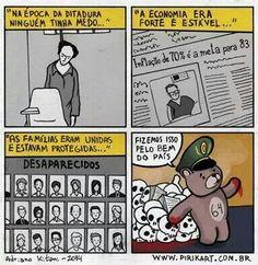 Ditadura por Pirikart