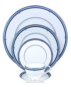 """...I'm partial to blue...Royal Doulton """"Countess"""" Dinnerware Collection - Fine China - Dining & Entertaining - Macy's"""