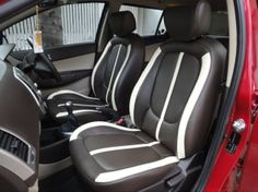 Hyundai i20 Leather Car Seat Covers.