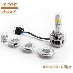 LED motorfiets koplamp H4 motor licht BA20D flasher motos mistlichten voor ktm exc cafe racer harley motorfiets accessoires