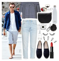 """""""Summer Holiday with Louis"""" by phenomeniall-style ❤ liked on Polyvore featuring Topshop, M.i.h Jeans, Chanel, Miss Selfridge, Forever 21, MANGO, NARS Cosmetics, Old Navy, S'well and Splendid"""