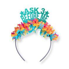 Ask 3 Before Me Crown