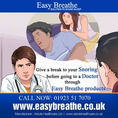 Give a break to your Snoring before going to a Doctor through Easy Breathe products...