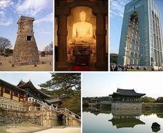 Unesco đã công nhận Khu di tích lịch sử Gyeongju của Hàn Quốc là Di sản văn hóa thế giới năm 2000.