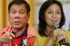 Duterte Robredo win 2016 polls MANILA - Davao City Mayor Rodrigo Duterte and Congresswoman Leni Robredo have officially won the presidential and vice-presidential elections respectively based on the final tally of votes by Congress sitting as the National Board of Canvassers.