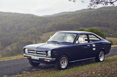 1973 Datsun 1200, first one I totaled, actually my father's... special place in my heart or this one...